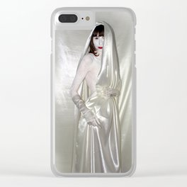 """say no to patriarchy / """"the sinner"""" Clear iPhone Case"""