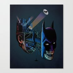 destructured hero#1 Canvas Print