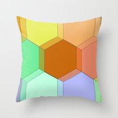 Hello Honeycomb  Throw Pillow