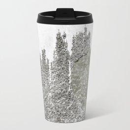 concrete wall and tree Travel Mug