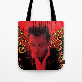 Wings of Fire Johnny Cash Tote Bag