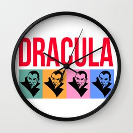 Dracula, Classic Monsters Wall Clock