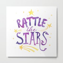 rattle the stars v2 Metal Print