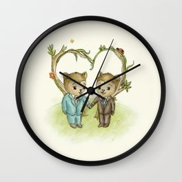 Lovey Wall Clock
