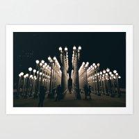 Urban Light Art Print