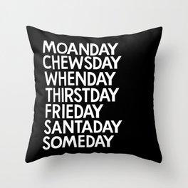 Happy Daze Throw Pillow