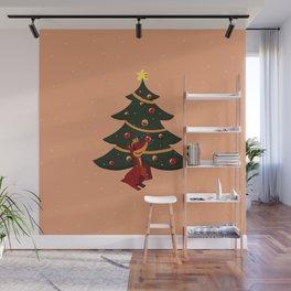 Christmas Spirit Wall Mural