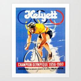 Yellow Jersey Art Print