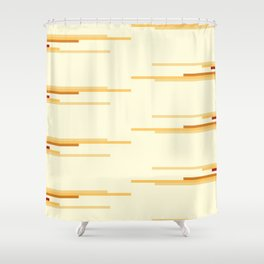 shades of creme Shower Curtain