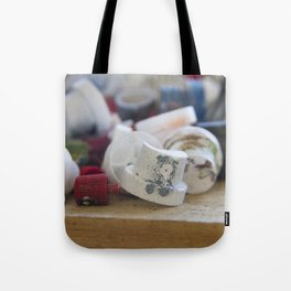 Spray Paint Graffiti Can Nozzle Tote Bag