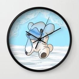 Cubchoo Wall Clock