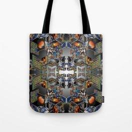 Framework: Fractal Journey Tote Bag