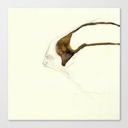 UnHuman#01 Canvas Print