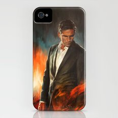 He Who Fights Monsters iPhone (4, 4s) Slim Case