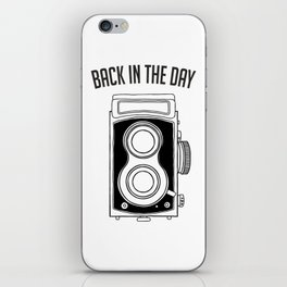 Back in the Day Old Camera iPhone Skin