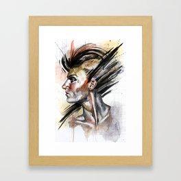 Her Own Sword Framed Art Print