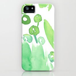 Abstract floral & square #9 iPhone Case