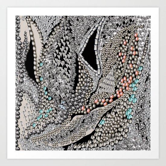 Silver Jewel Art Print