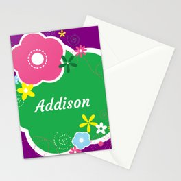 Addison: Personalized Gifts for Girls and Women Stationery Cards