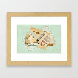 """""""Gettin' it in"""" Framed Art Print"""