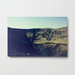Mouth of the Volcano Metal Print