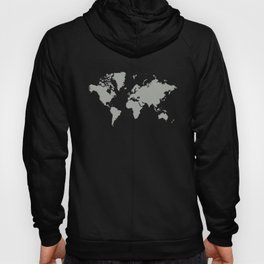 World with no Borders - gray Hoody