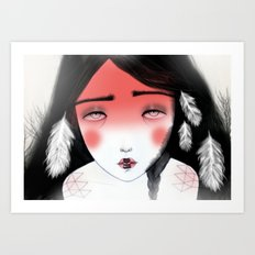 Moonchild Art Print