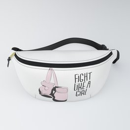 Fight like a girl Fanny Pack