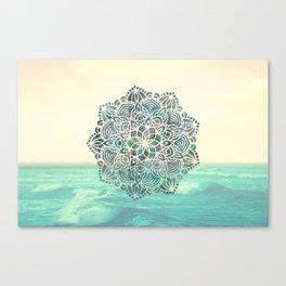 Mandala Mermaid Oceana Canvas Print