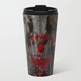 Valentines Day Zombie Couple Travel Mug
