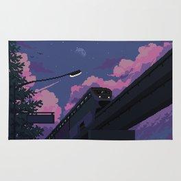 Moonrise twilight Rug