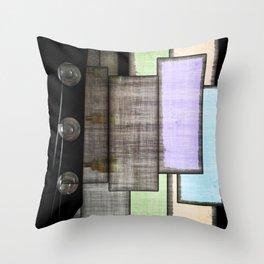 Headstock Exchange Throw Pillow