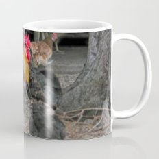 Rooster in the hen house Mug
