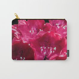 Red Azalia Carry-All Pouch