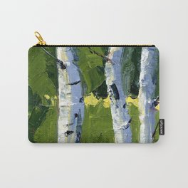 Aspens - Catching the Light Carry-All Pouch