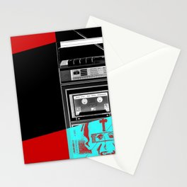 Music shadow Stationery Cards
