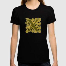 Ornate Initials Four - X T-shirt