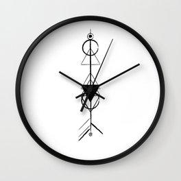 native rocket Wall Clock
