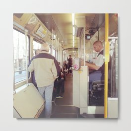 Tram Metal Print