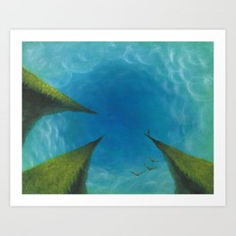 Points of View Art Print
