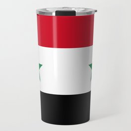 Flag of Syria, High Quality image Travel Mug