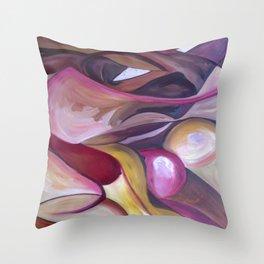 Hidden Figure  Original Painting by Ciel Ellis Throw Pillow
