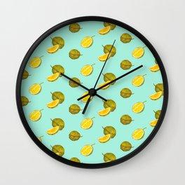 Durian II - Singapore Tropical Fruits Series Wall Clock