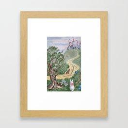 Fairy Tale Garden Framed Art Print