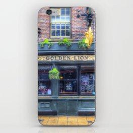 The Golden Lion Pub York iPhone Skin