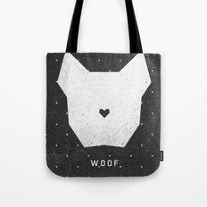 WOOF Tote Bag
