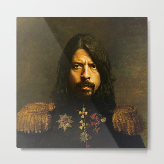 Dave Grohl - replaceface Metal Print