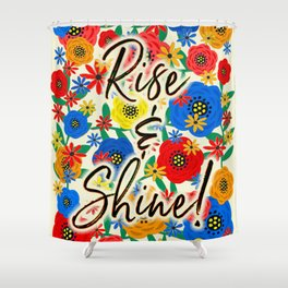 Rise & Shine Shower Curtain