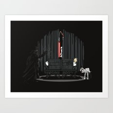 The Dark Side of Magic Art Print