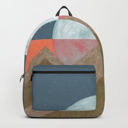 MOON BEHIND THE MOUNTAINS Backpack